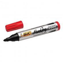 BIC Permanentmarker Marking 2000 Ecolutions, rot