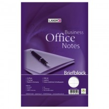 LANDRÉ Briefblock Business Office Notes, A4, rautiert, 10 Stück