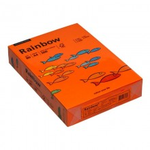 Rainbow Kopierpapier COLOURED PAPER, A4, 80 g/qm, intensivorange, 500 Blatt