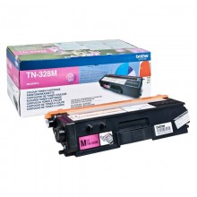 brother TN-328M Toner, magenta, ca. 6.000 Seiten