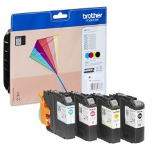 brother LC-223VAL Tinten-Multipack, CMYK, 4 Stück