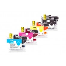 Alternatives Tinten-Multipack zu brother LC-3219XLVAL, CMYK, 4 Stück